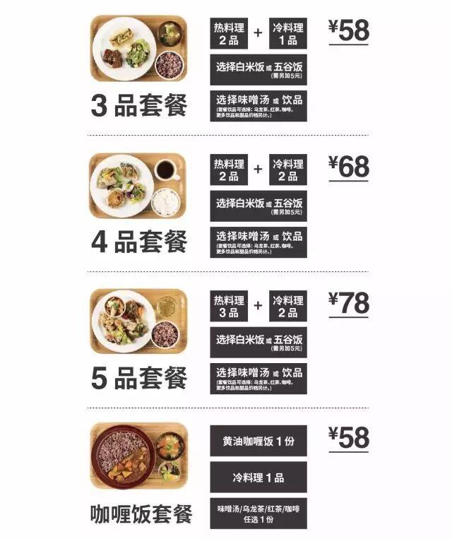 【MUJI Diner】Lunch Set