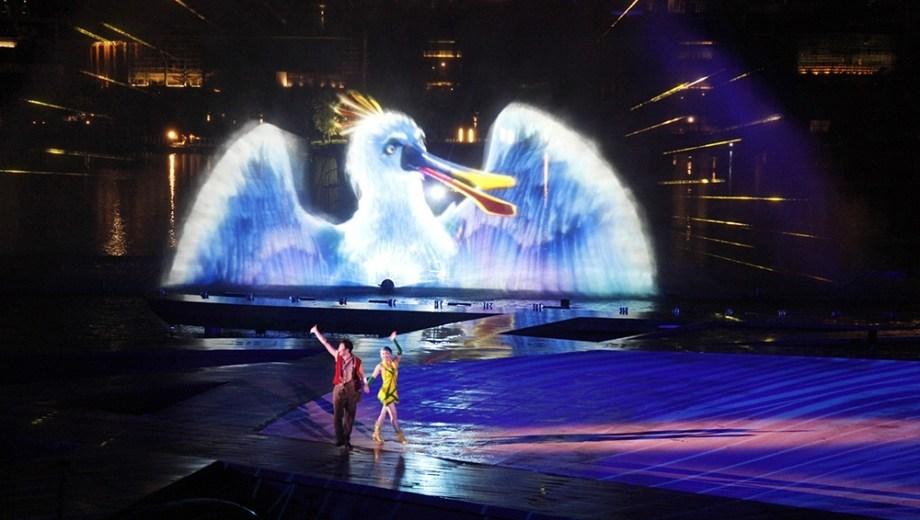 【OCT Harbour】Water Show Theatre